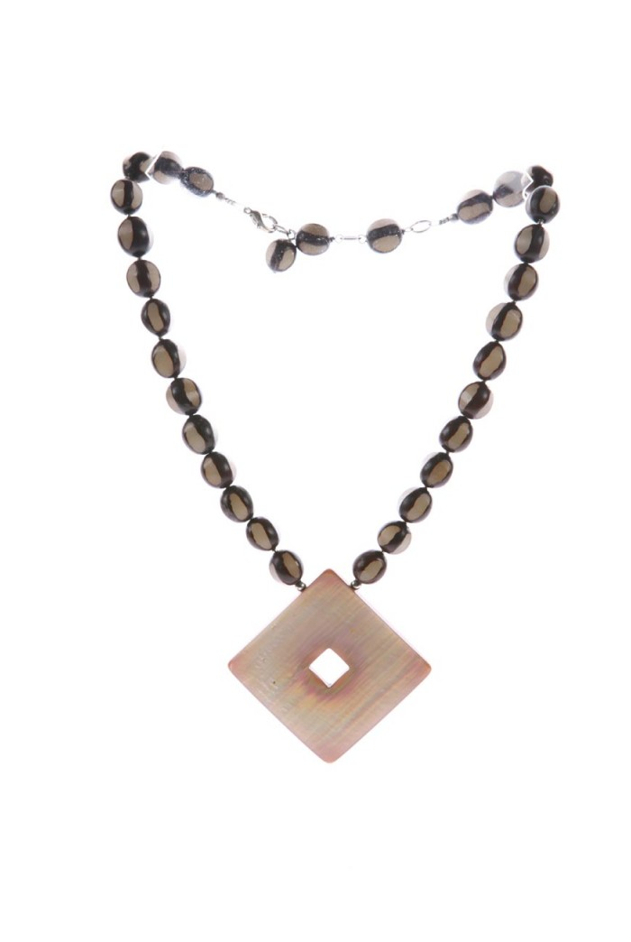 Vintage 1970s Chunky Bead Necklace