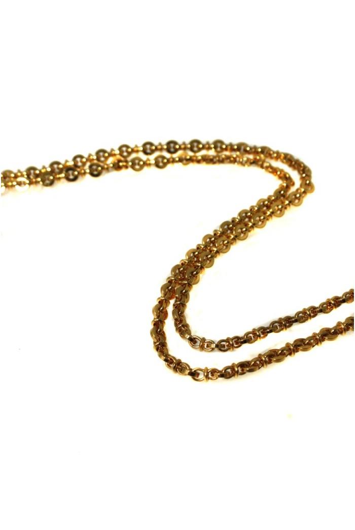 Vintage Gold Monet Necklace