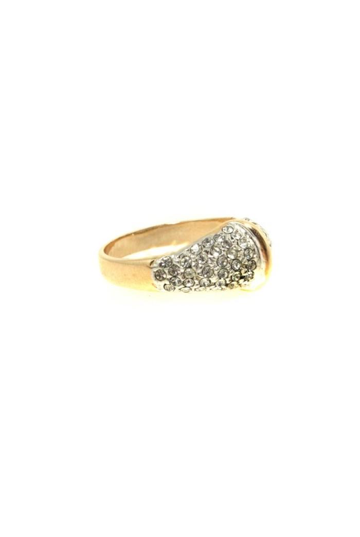 Vintage Diamante Ring