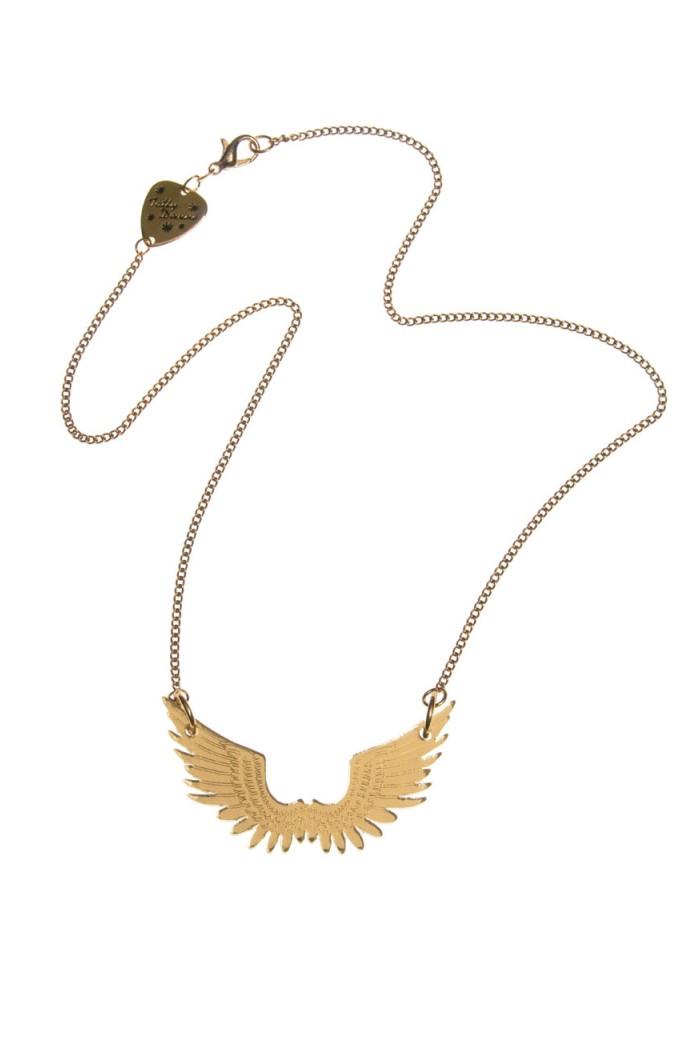 Tatty Devine Pegasus Gold Necklace