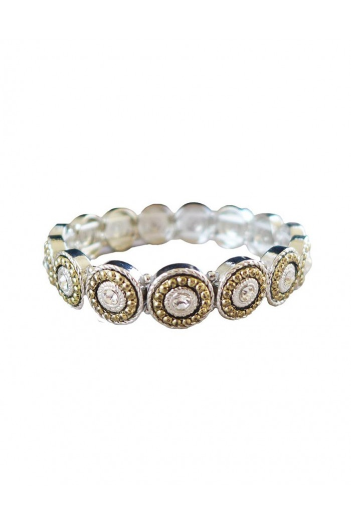 Art Deco Bracelet - Silver