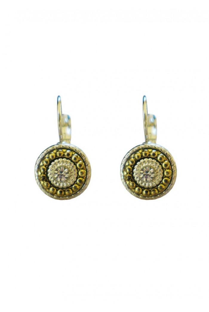 Art Deco Earrings - Silver