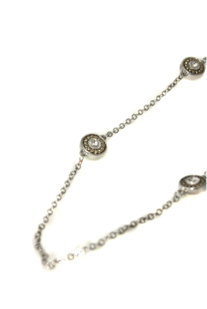 Art Deco Necklace - Silver