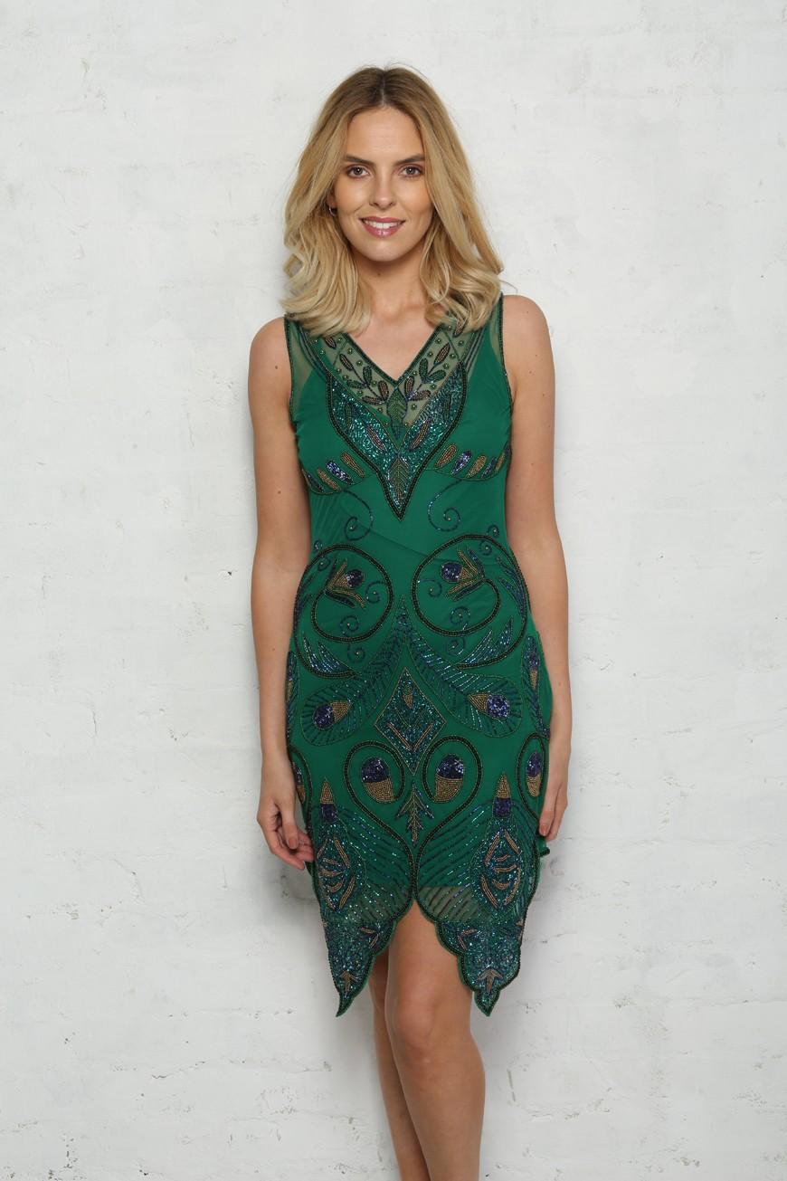 6edcefa159e Peacock Flapper Dress. Preorder. Preorder. Preorder