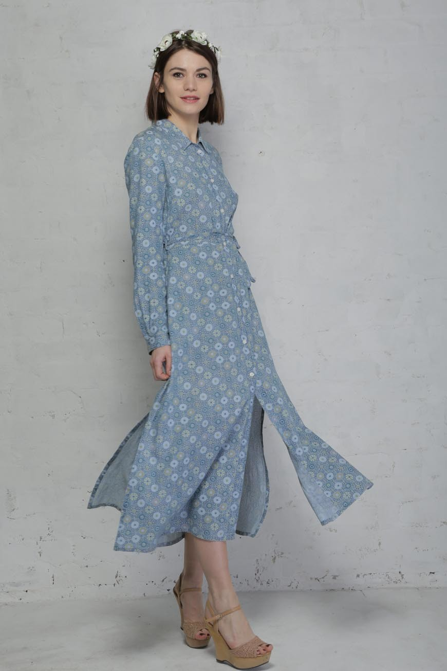 7aa152ec510 French Connection Blue Floral Shirt Dress. Preorder. Preorder. Preorder