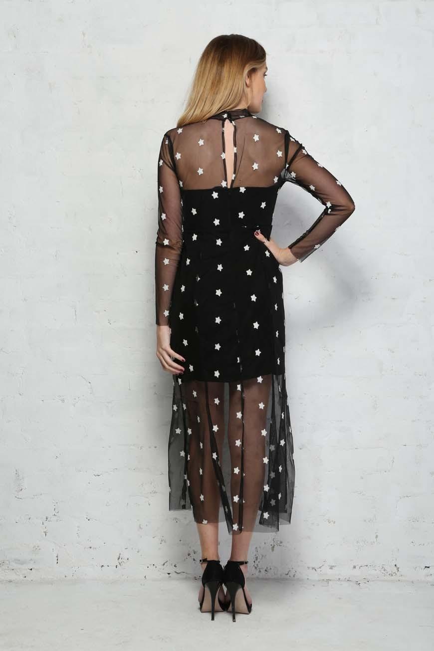 ded7682de4 Star Print Dress - Alexandra Dress - Little White Lies