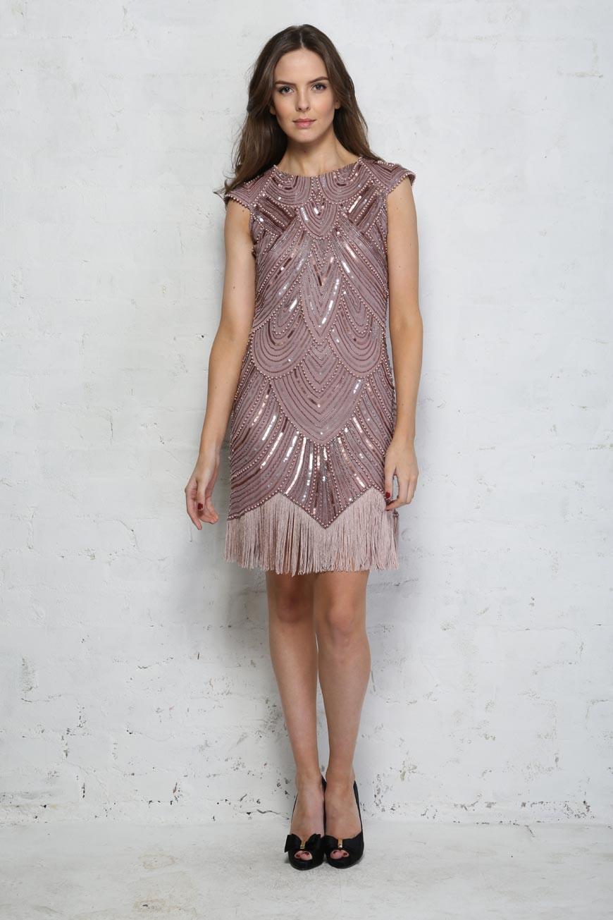 Flapper Bridesmaid Dresses