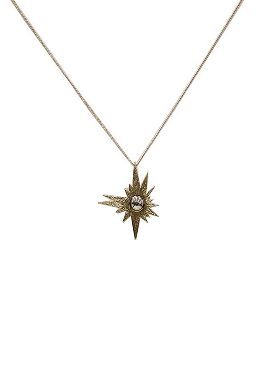 Gold Sun Necklace
