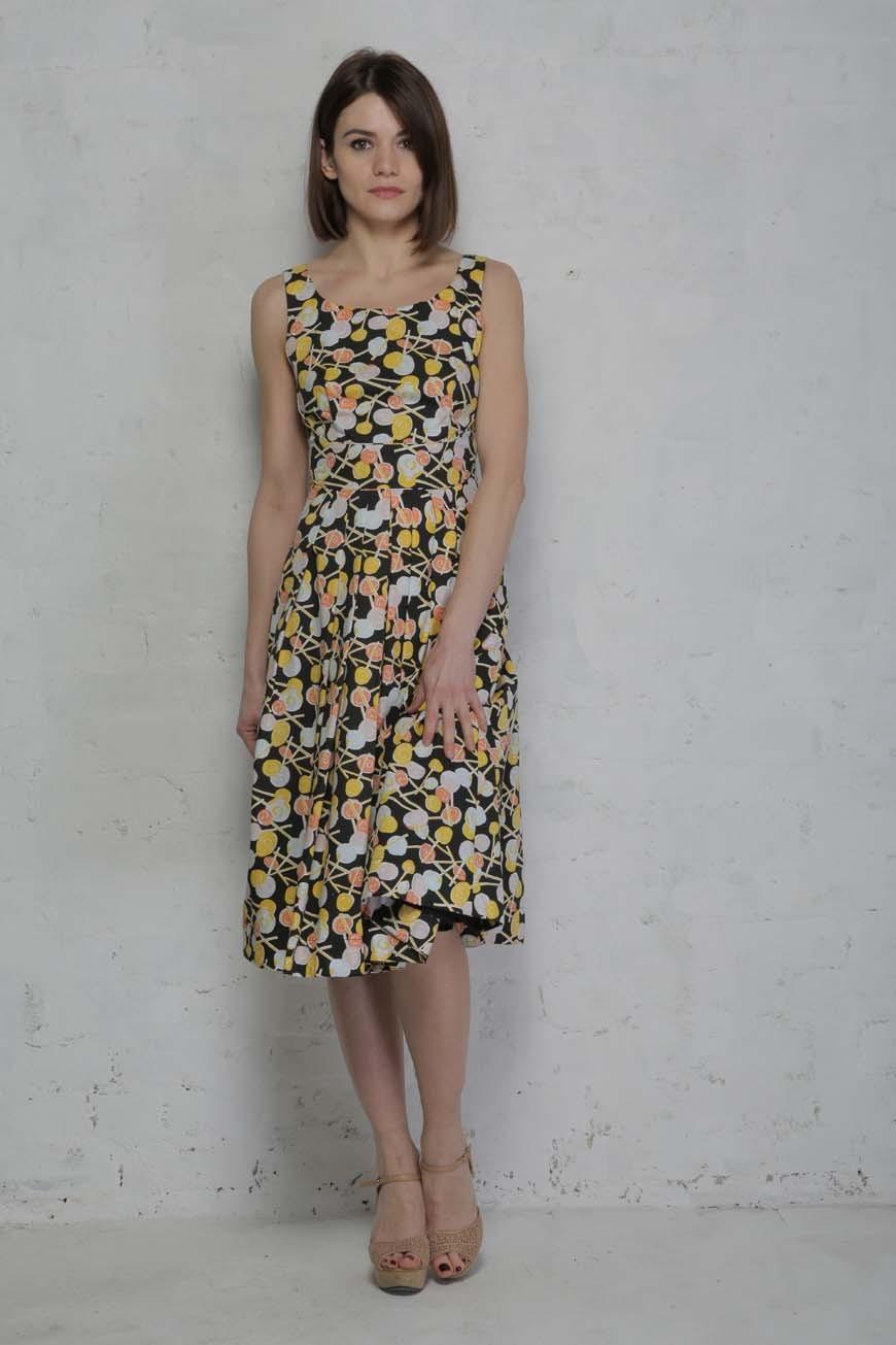 Lollypop Print Prom Dress Emily Amp Fin Printed Dress