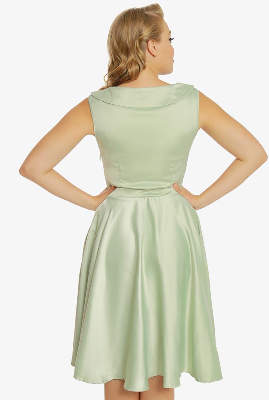 Mint Green Prom Dress Formal Fifties Dress