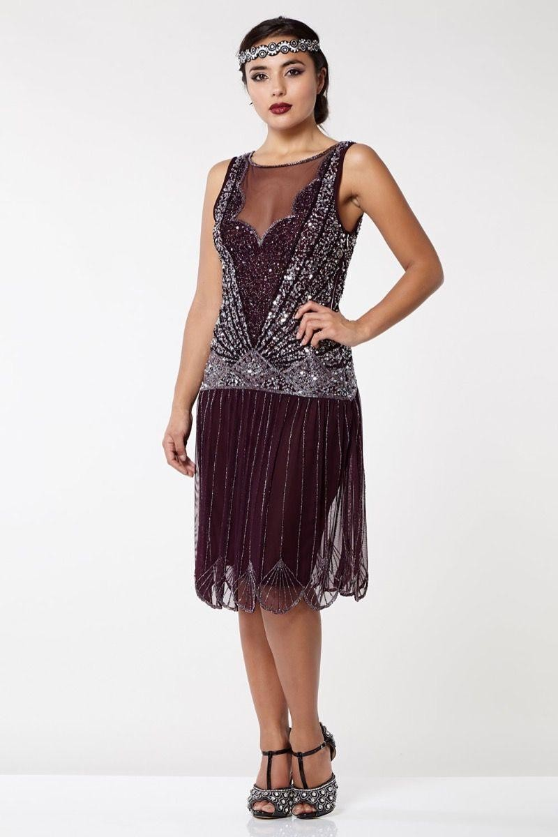 1920s Dresses UK | Flapper Dresses, Gatsby Dress Red 1920s Flapper Dress £89.00 AT vintagedancer.com