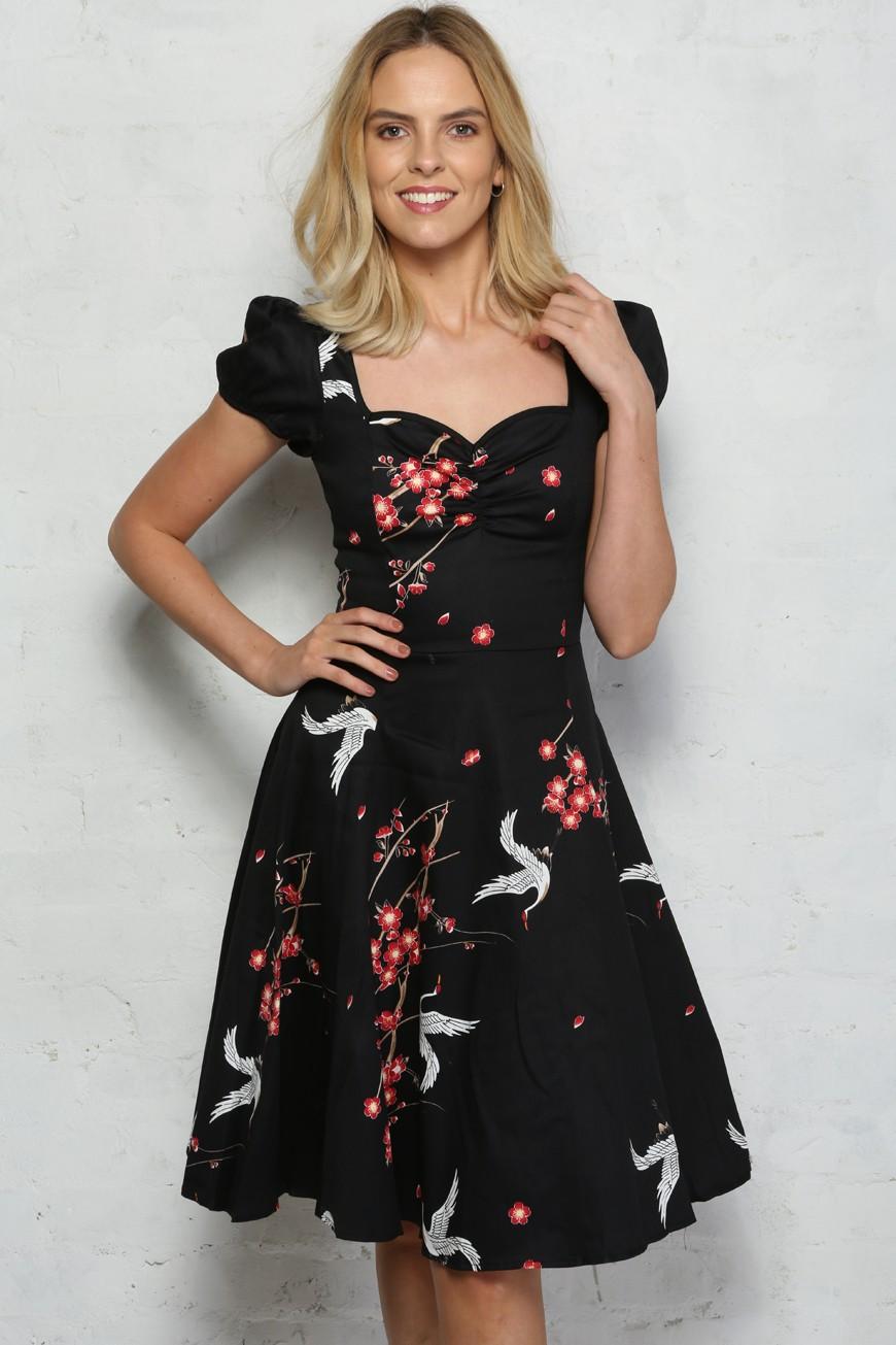 1930s Dresses, Shoes, Lingerie, Clothing UK Bird Prom Dress £33.00 AT vintagedancer.com